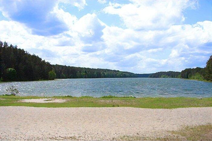 Jezioro Sumino domki letniskowe, noclegi