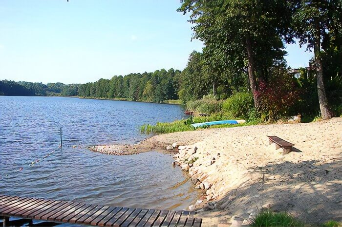 Jezioro Sobąckie kaszuby