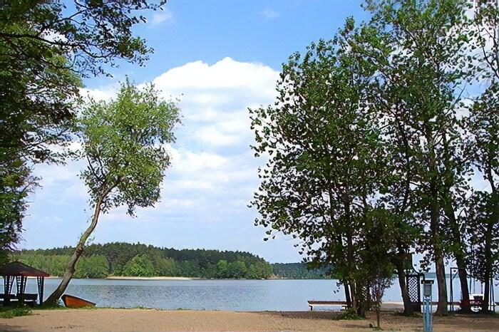 Jezioro Wdzydze kaszuby