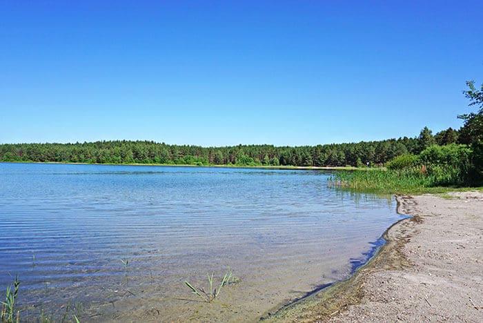 Jezioro Drzęczno (Drzeszcz) kaszuby