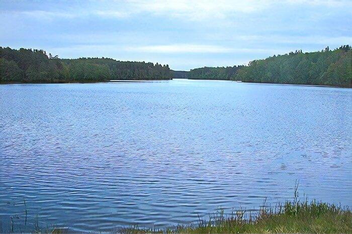 Jezioro Krzynia kaszuby