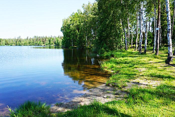 Jezioro Okonko domki letniskowe, noclegi