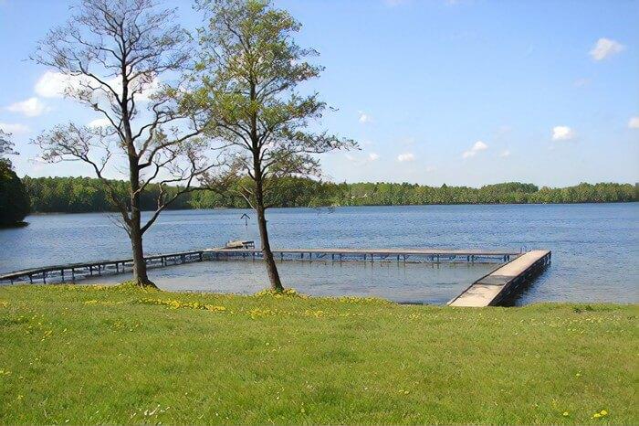 Jezioro Białe kaszuby
