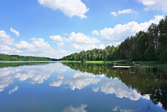 Jezioro Żołnowo / Sudomie domki letniskowe, noclegi