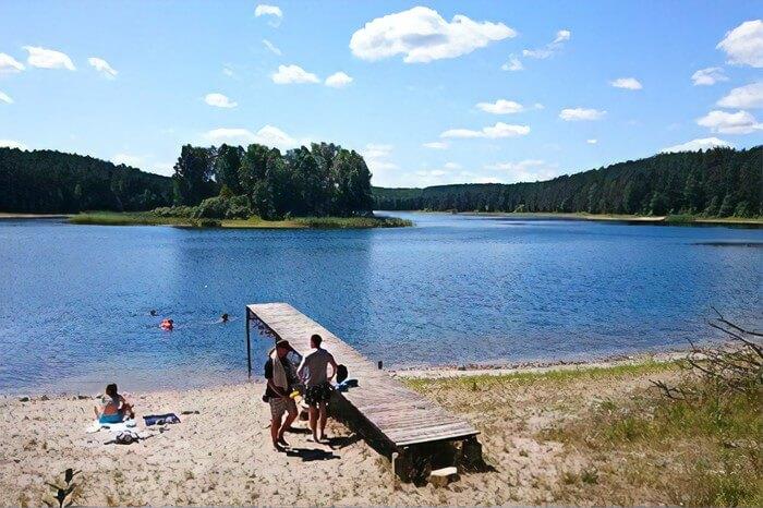 Jezioro Ostrowickie / Gostkowo